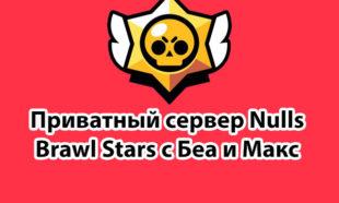 Приватный сервер Brawl Stars с Беа и Макс