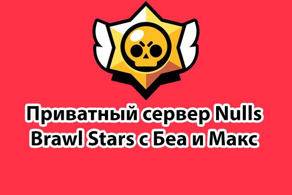 Nulls Brawl Stars с Беа и Макс 📥 приватный сервер 🔓